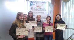 Об участии студентов кафедры сурдопедагогики в конкурсе выставке социальных проектов