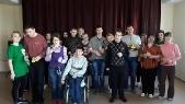 Волонтеры-первокурсники провели мастер-класс «Подарки к Пасхе»  в ГУ «Территориальный центр социального обслуживания населения Московского района г. Минска»